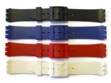 Gents 17mm Swatch® Compatible Resin Watch Strap